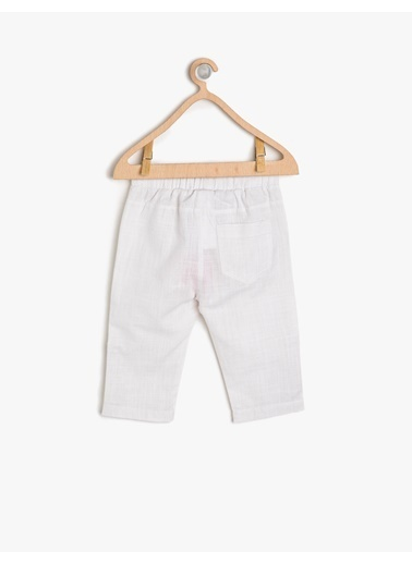 Koton Kids Pantolon Beyaz